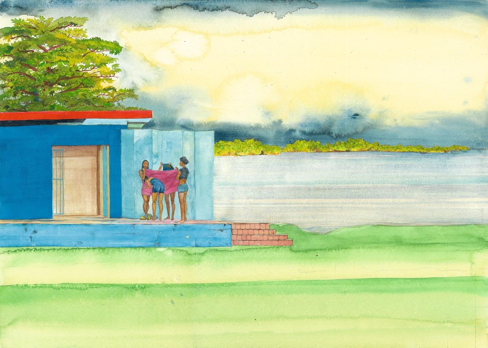 Ayodhya's Bathers, 2012